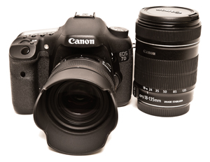 7D with 18-135mm Kit Lens