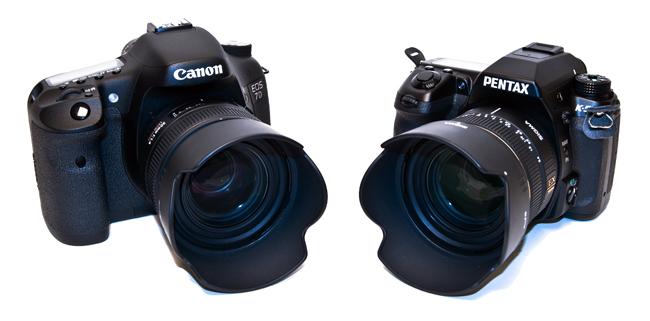 Canon EOS 7D vs. Pentax K-5